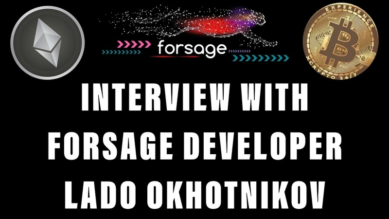 FORSAGE 1st ONLY Interview w Lead Developer Lado Okhotnikov Perpetual Income Streams 4 Life