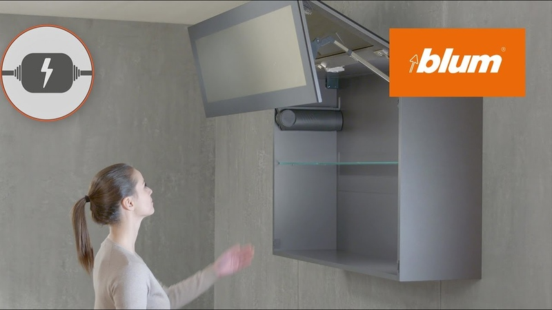 SERVO-DRIVE for AVENTOS Electrical motion support system for lift systems | Blum