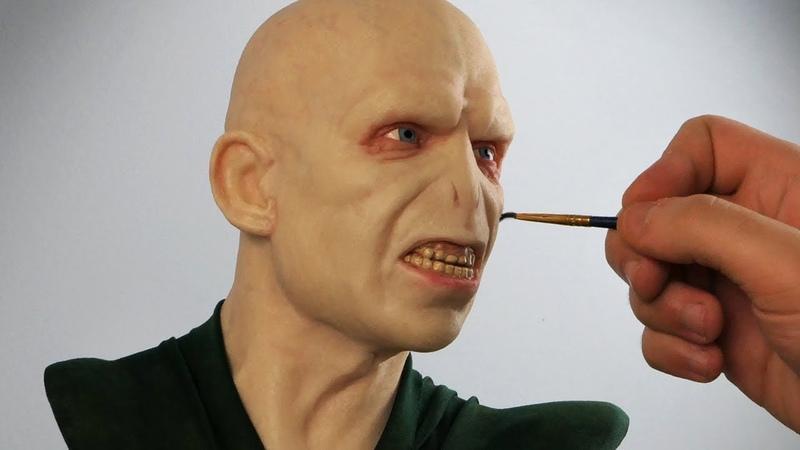 Voldemort Sculpture Timelapse Harry Potter