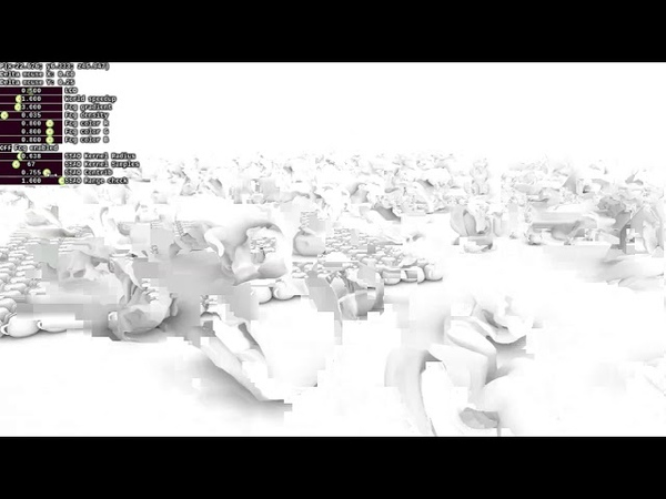 SSAO Screen Space Ambient Occlusion using OpenGL