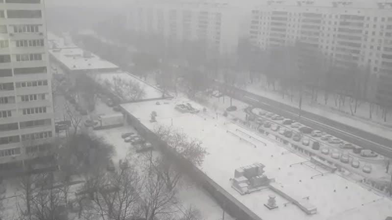 Зима вернулась🌨🌨🌨часть 3