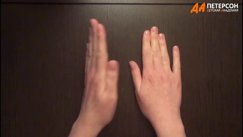 Нейропсихология Упражнение Ладонь ребро кулак