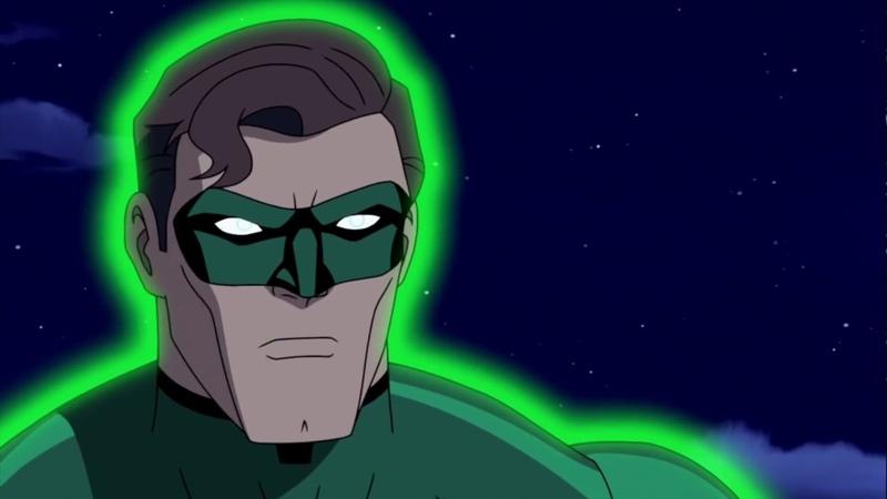 Hall Jordan vs Kilowog e Tomar Re Lanterna Verde Primeiro Vôo Dublado