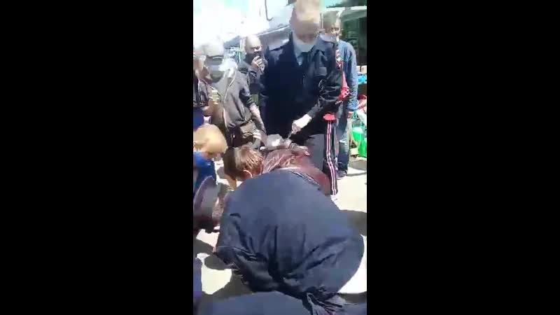 Полицейский беспредел под прикрытием масочного режима
