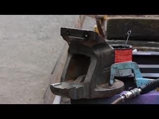 Могу ли я спасти тиски со свалки металлолома Проект реставрации