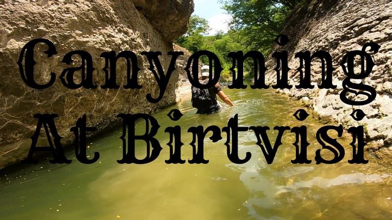Canyoning At Birtvisi, Georgia