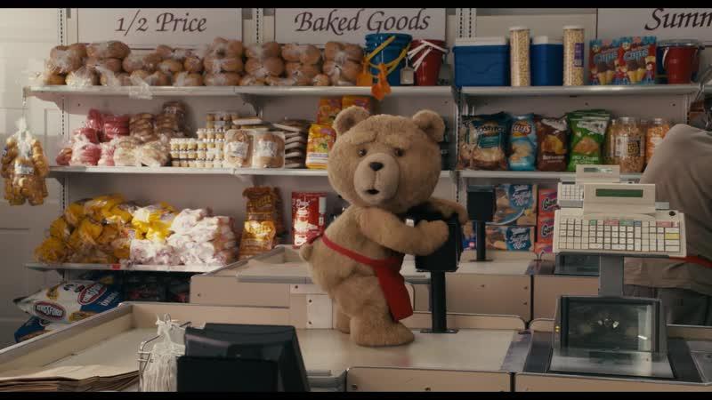 Тед на работе Третий лишний 2012 1080р