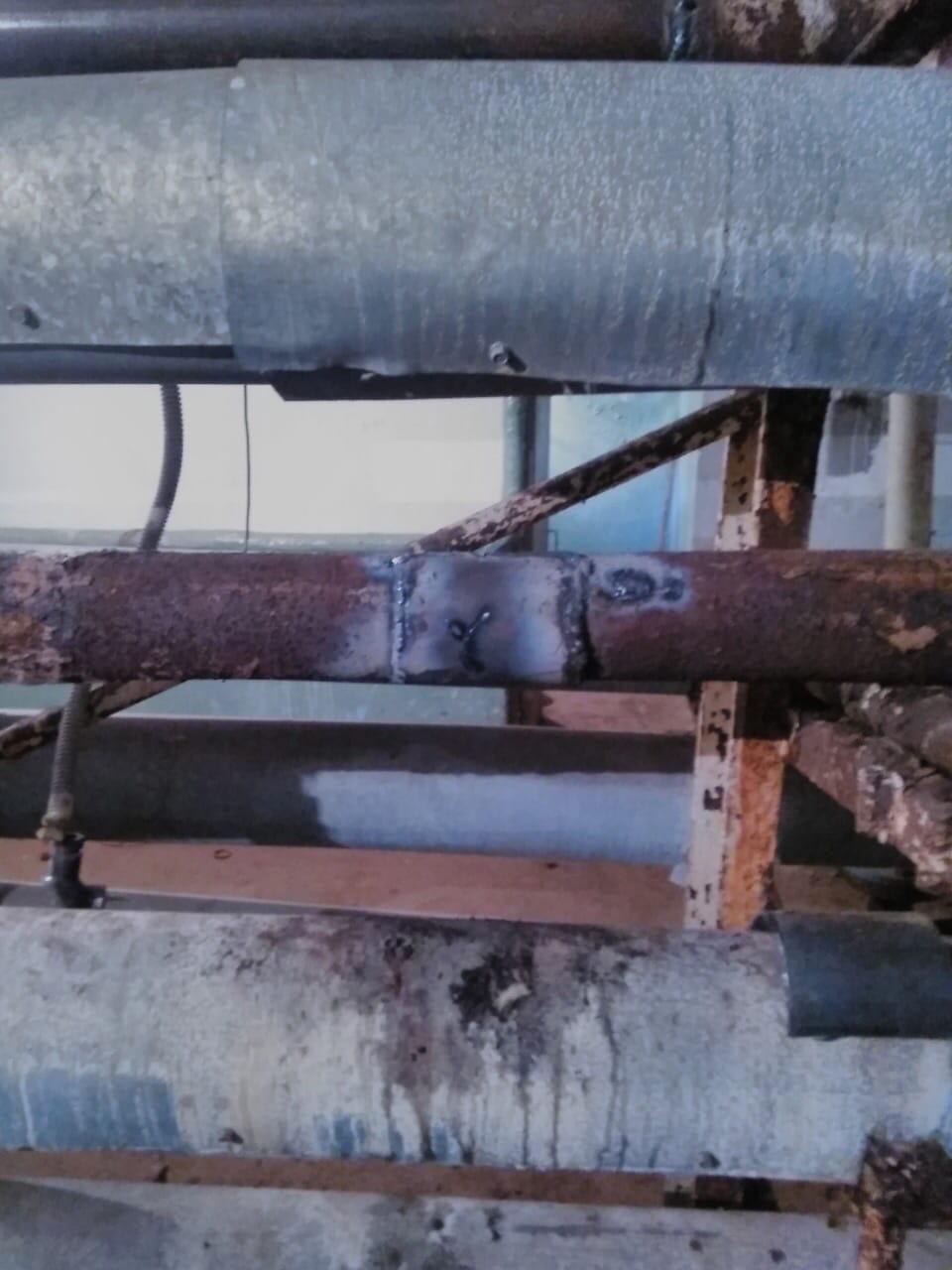 Менделеева 7 ремонт бойлера и замена участка