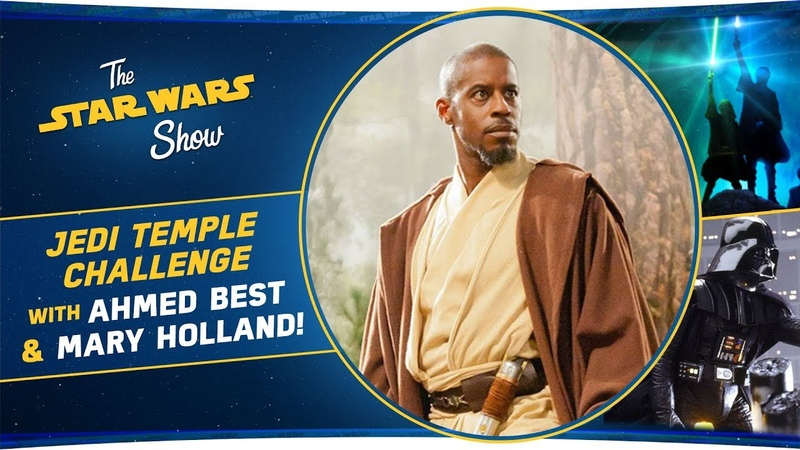 Ahmed Best and Mary Holland Talk Jedi Temple Challenge And We Celebrate The Empire Strikes Back