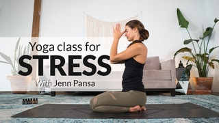 Yoga Class for Stress Management with Essential Oils