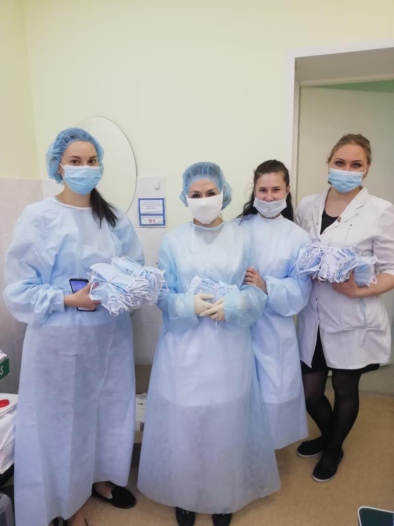 Управляющая компания «МКД «Восток» передала медицинские маски сотрудникам ФГБУЗ «Медико-санитарная часть № 154»