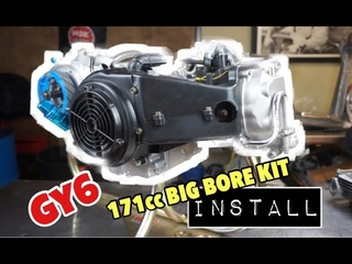 How to install a big bore kit GY6 171cc (61mm). EVERYTHING YOU NEED TO KNOW!