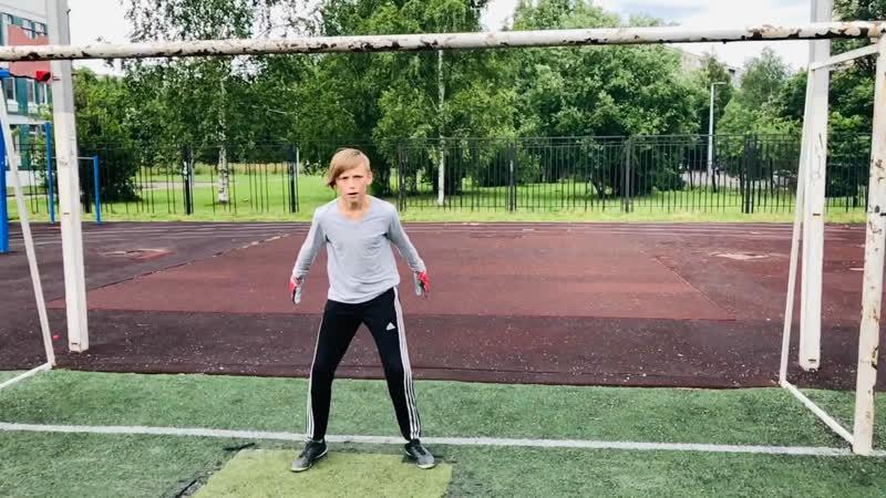 Снимаем новое видео Перекидка футбольными мячами