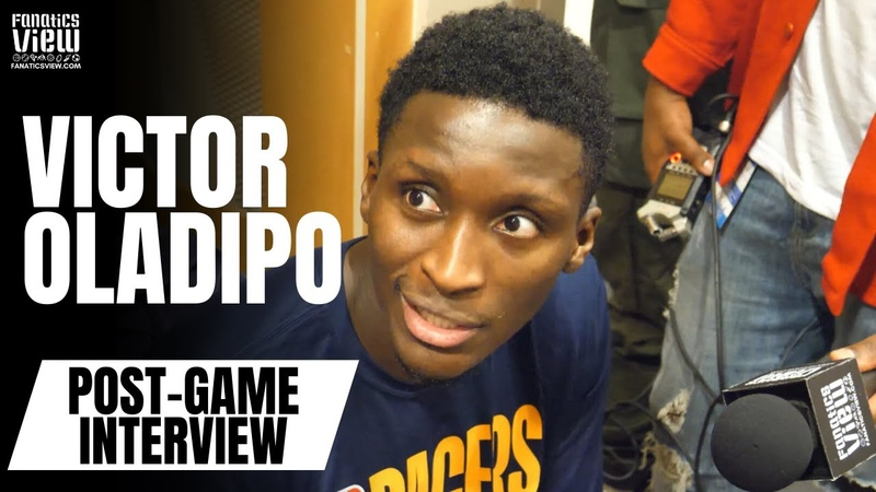 Victor Oladipo on Luka Doncic Its Scary Its His 2nd Year. He Still Has So Much To Learn