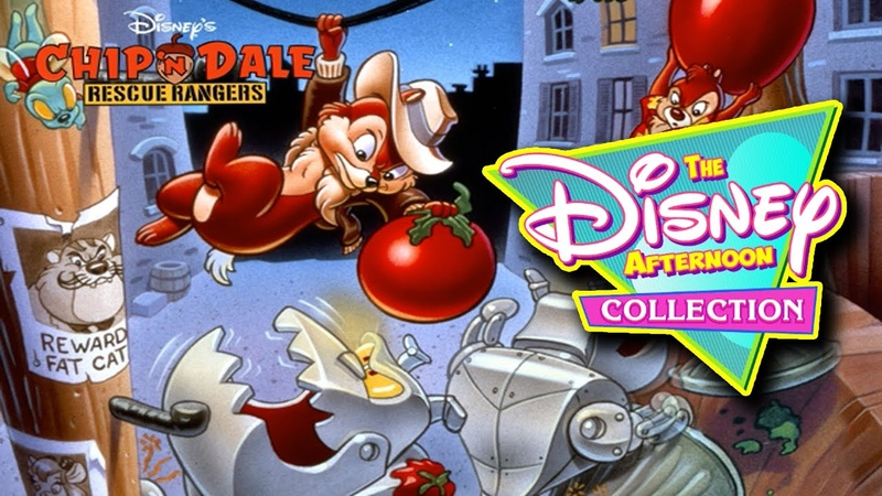 PC The Disney Afternoon Collection Chip 'n Dale Rescue Rangers