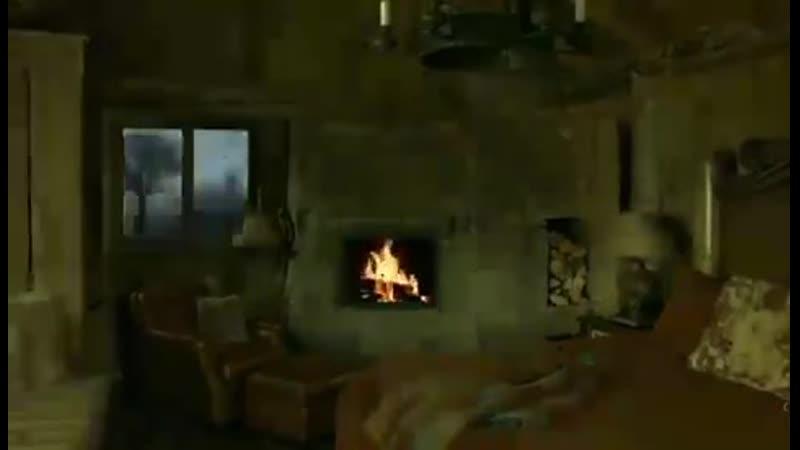 на улице гроза а дома тепло и уютно 🌙💙