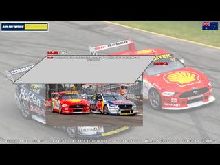 Virgin Australia Supercars Championship: CoreStaff Darwin SuperSprint, Гонка 3,  [A21 Network]