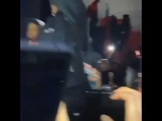 Juice dancing on Welcome To The Party