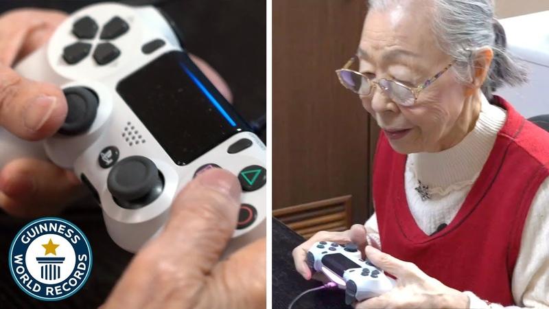 Meet the 90 year old gamer grandma Guinness World Records
