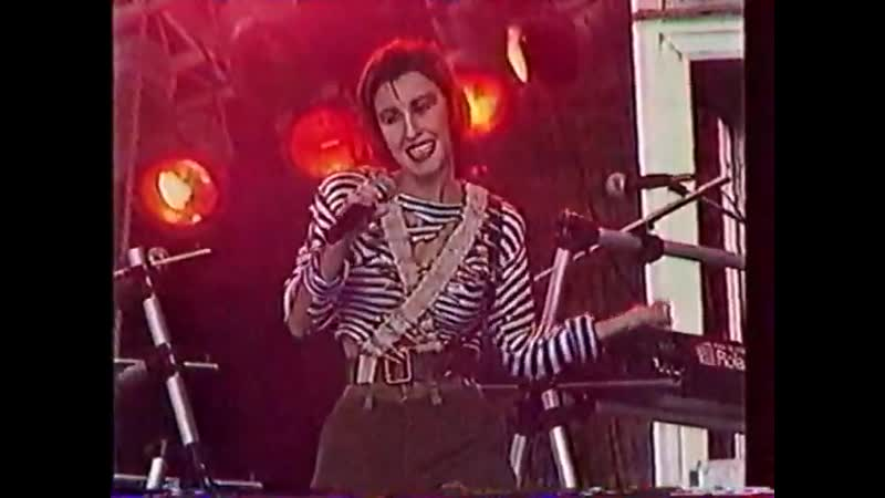 Анка - НЭП. Финал телешоу 50/50 в Лужниках. 1991 год.