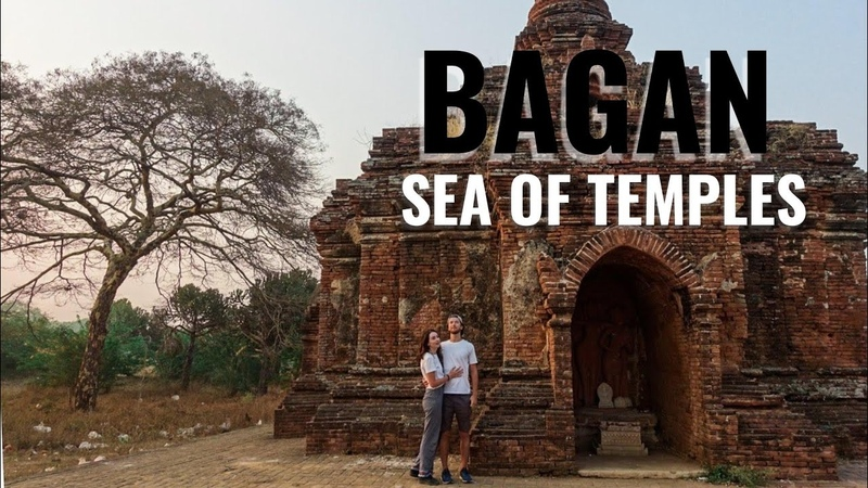 We Visit The Largest Archaeological Reserve In The World (Bagan, Myanmar)