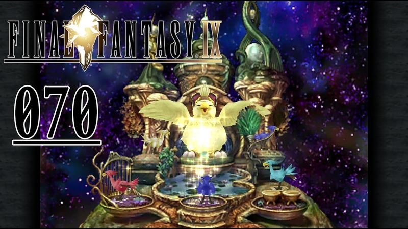 Final Fantasy 9 Remaster Deutsch 070 Der blaue Choco geht baden