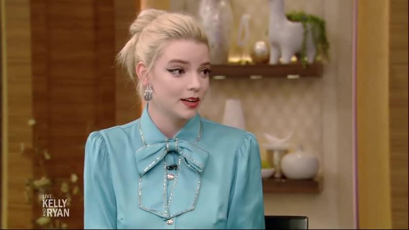 Интервью | Телешоу «В прямом эфире с Келли и Райаном» в рамках промо «Эммы» | 18.02.2020