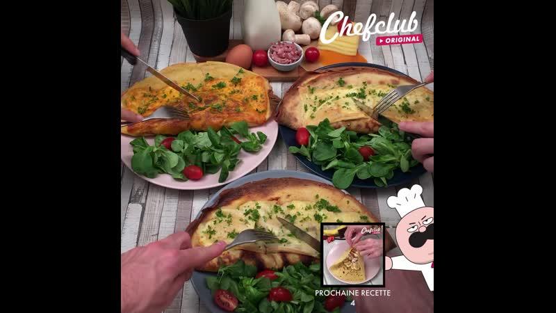 La crêpe omelette L'oeuf s'est cassé et revisite la crêpe classique