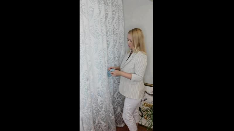 О том, как захватить шторы при помощи подхвата