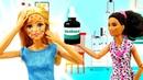 Видео для девочек скуклами— Что слицом Barbie УБарби ветрянка! —Фотосессия сорвана!