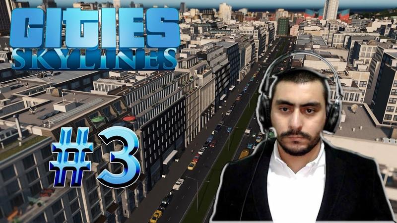 Adamlara Sanayi Suyu İçiriyormuşum Ondan Hasta Oluyolarmış | Cities Skylines 3 (Türkçe)