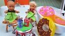 ВАННА С ФАНТОЙ И СТУЛ ИЗ КОКА-КОЛЫ ДЛЯ КАТИ И МАКСА! Лайфхаки для кукол Барби и ЛОЛ сюрприз