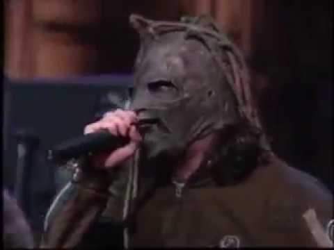 Slipknot The Heretic Anthem Live on Conan