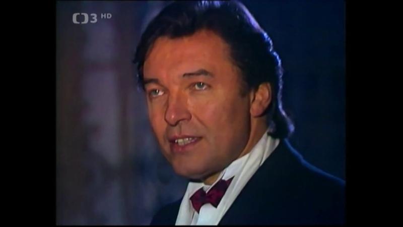 Karel Gott Noc je dlouhá a zlá z pořadu Jedeme dál Ve dvou se to lépe táhne Silvestr 1987