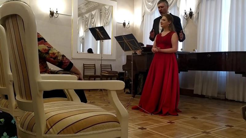 Scene of Tsaritsa Shemakha and Tsar Dodon from The Golden Cockerel Olga Antipova Jury Zelenin