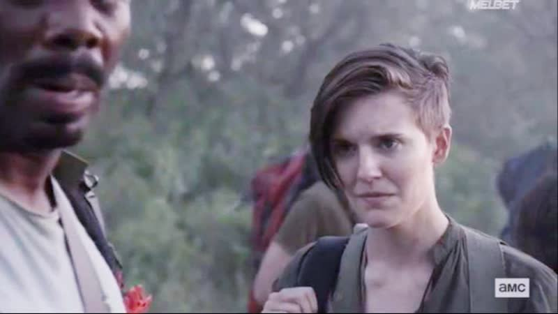 Бойтесь ходячих мертвецов 5 сезон 15 серия Алиша Кларк и Алфия 4