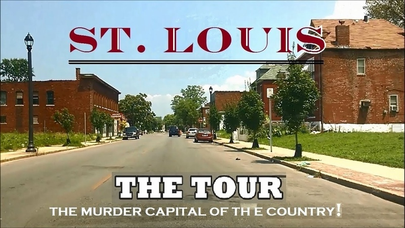 A Tour of the Murder Capital of the Country St Louis