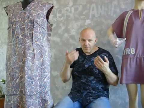 13 урок курсов в доме моделей одежды Ирина Серебрянная