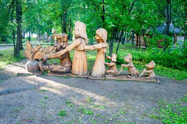 Семейное путешествие в парк «Оленьи ручьи», изображение №5
