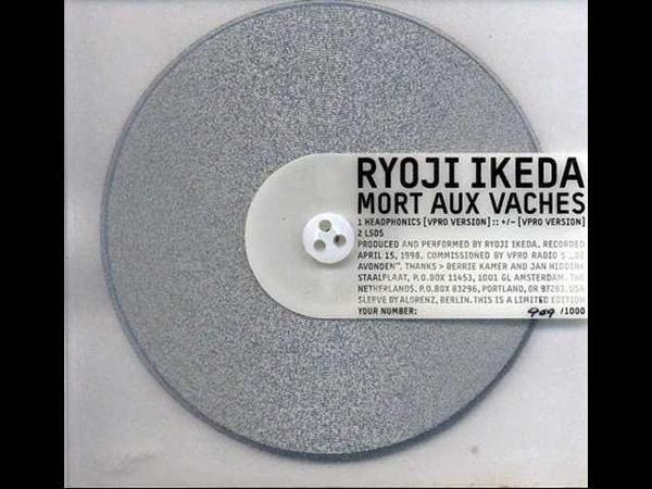 Ryoji Ikeda Headphonics VPRO Version VPRO Version
