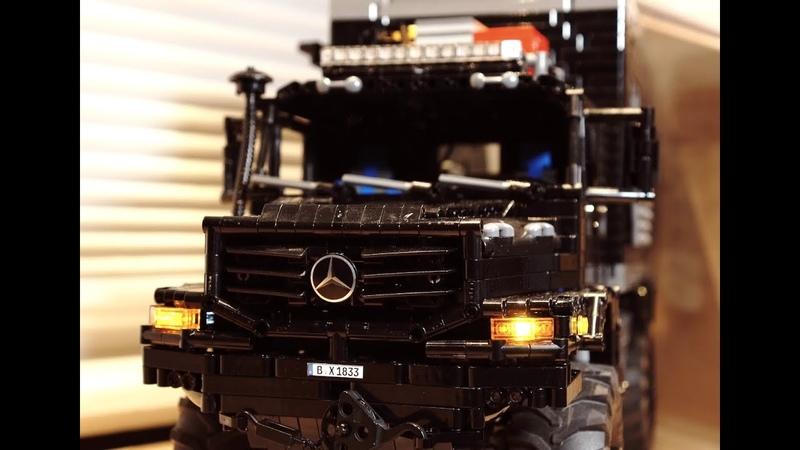 Behind the MOC – Mercedes Zetros 1833 – Lego Technic MOC with SBrick