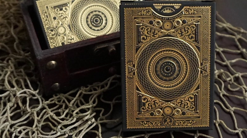 Aurelian Playing Cards Reviewed by @56Sealed @ Hocus Pocus