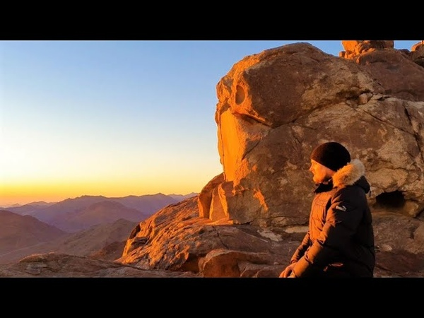 Гора Моисея Наш путь на вершину мира Красота Синая Разговор с бедуином Египет
