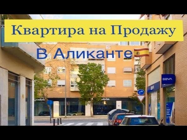 продажа квартиры в Аликанте Недвижимость в Испании