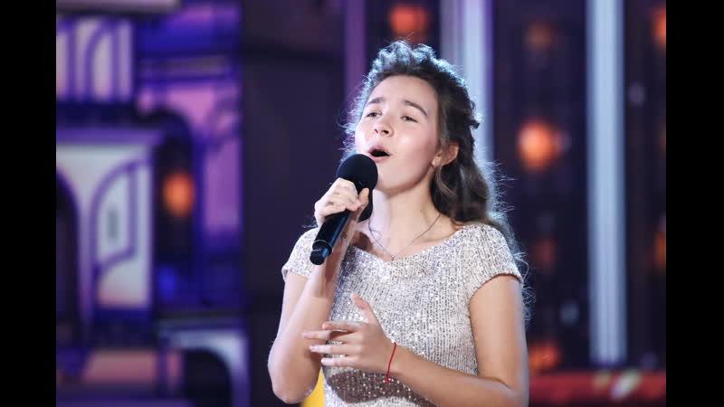 15 летняя певица исполнила хит Адель на Синей птице Лилиана Садовская
