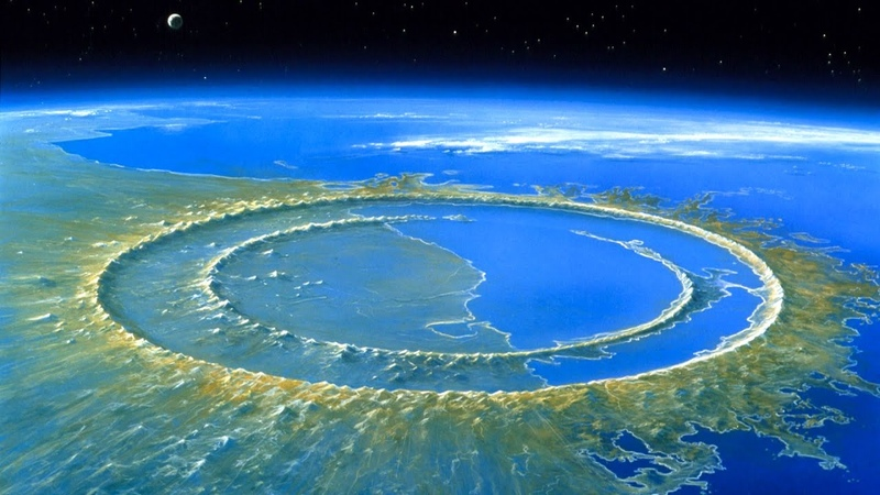 Чикшулуб след от огромного метеорита из за которого вымерли динозавры Ударные кратеры Земли