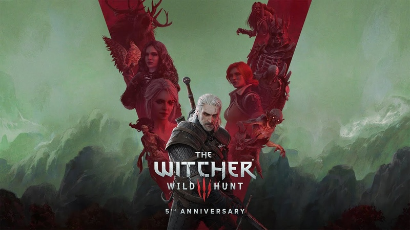 Celebrating the 5th anniversary of The Witcher 3 Wild Hunt