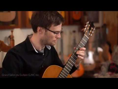 Renaud Cote Giguere performs Still Crazy A A T Years Paul Simon On Jose Marques Guitar