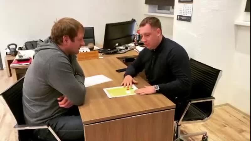 Александр Емельяненко Подводим итоги турнира с Володей!