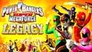 POWER RANGERS Super Megaforce. New game LEGACY. Red Ranger vs Tentacus